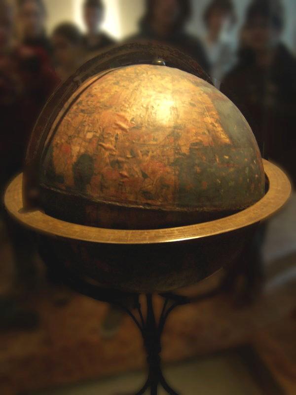 Erdapfel (c. 1492 – 1493), Martin Behaim, German National Museum