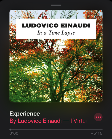 In a Time Lapse from Experience by LUDOVICO EINAUDI
